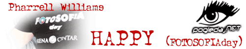 Pharrell Williams Happy (FOTOSOFIA day)